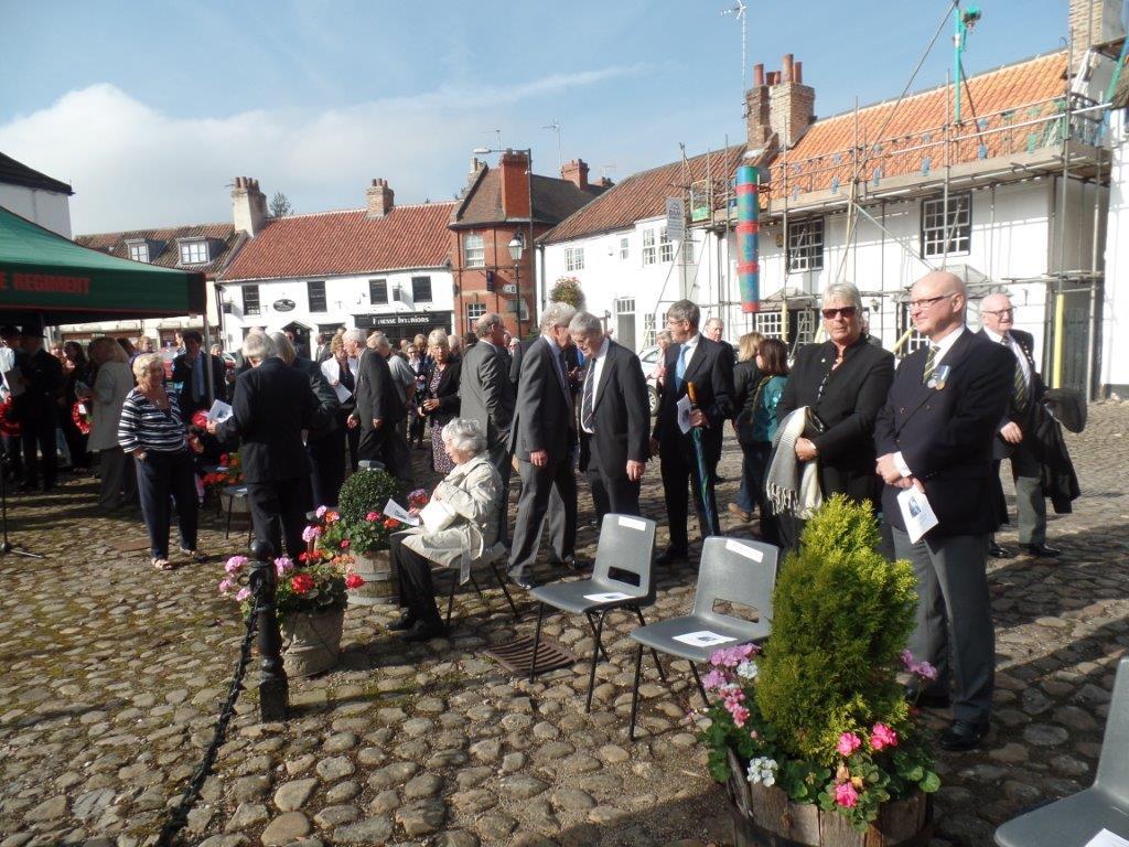 Commemoration To Honour Captain Archie White VC.Boroughbridge 070