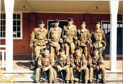 12 - Bn Shooting team Bisley 1977