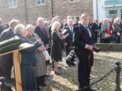 Commemoration To Honour Captain Archie White VC.Boroughbridge 071