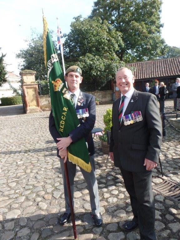 Commemoration To Honour Captain Archie White VC.Boroughbridge 117