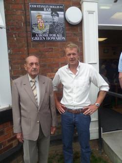 Stan Hollis V.C Memorial.Longlands Club Sat 2nd Aug 2014 026