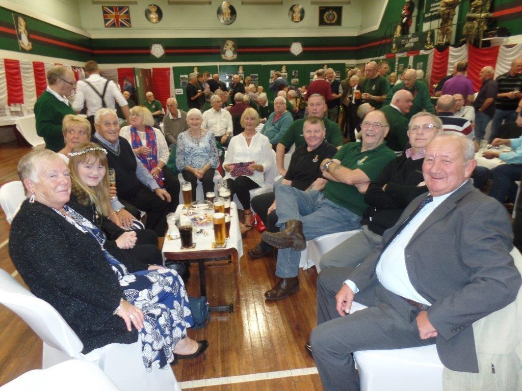 Green Howards Reunion.T.A Centre Stockton Rd.Fri 14th Oct 063