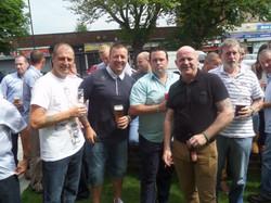 Stan Hollis V.C Memorial.Longlands Club Sat 2nd Aug 2014 011