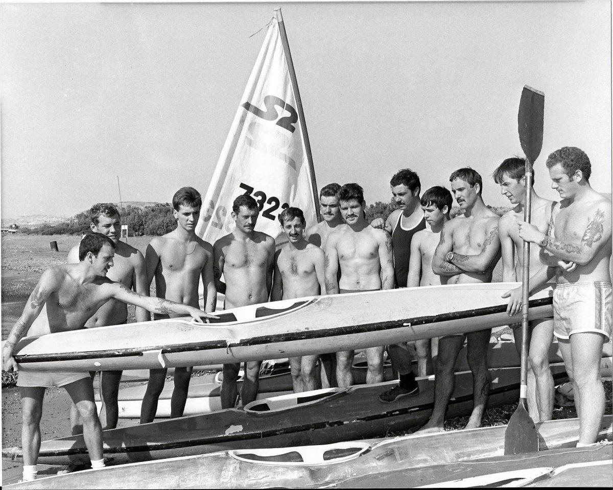 01 - A Coy Canoe lesson Dhekelia 1981