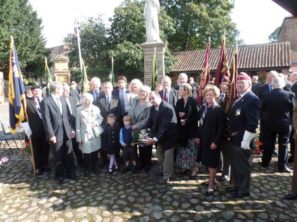 Commemoration To Honour Captain Archie White VC.Boroughbridge 101