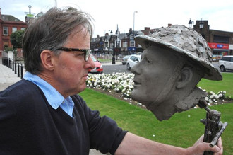 Unveiling of the Stan Hollis VC Memorial