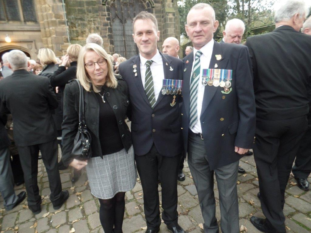 Kenny McGraths Funeral.Guisbrough Priory Wed 1st Nov 2017 104