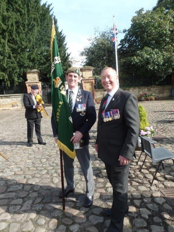 Commemoration To Honour Captain Archie White VC.Boroughbridge 118