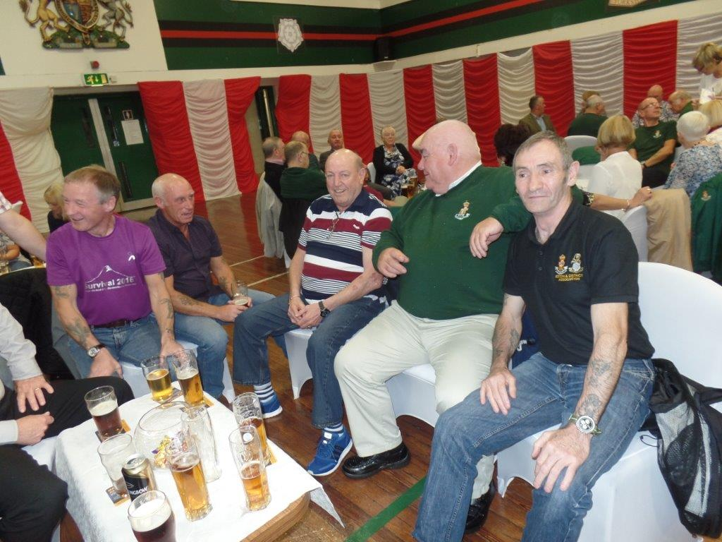 Green Howards Reunion.T.A Centre Stockton Rd.Fri 14th Oct 096
