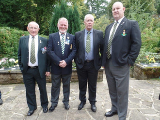 Tex Richardson Funeral,Darlington Crematorium + Rugby Club.Wed 20th Sept 2017. photos Submitted By M