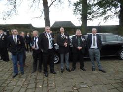 Kenny McGraths Funeral.Guisbrough Priory Wed 1st Nov 2017 084
