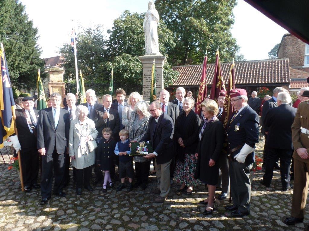 Commemoration To Honour Captain Archie White VC.Boroughbridge 102