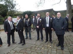 Kenny McGraths Funeral.Guisbrough Priory Wed 1st Nov 2017 087