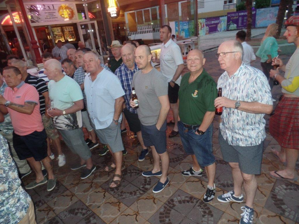 Green Howards Benidorm.Fun In The Sun.Mon 28th Mon 4th June 2018 029
