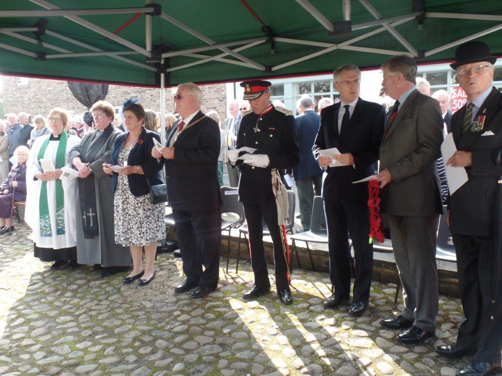 Commemoration To Honour Captain Archie White VC.Boroughbridge 067