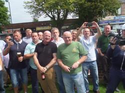 Stan Hollis V.C Memorial.Longlands Club Sat 2nd Aug 2014 013