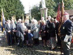 Commemoration To Honour Captain Archie White VC.Boroughbridge 097