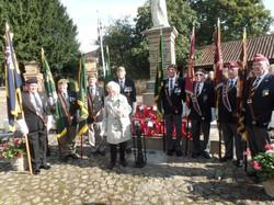 Commemoration To Honour Captain Archie White VC.Boroughbridge 111