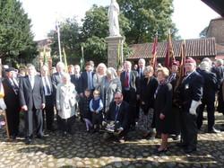 Commemoration To Honour Captain Archie White VC.Boroughbridge 099