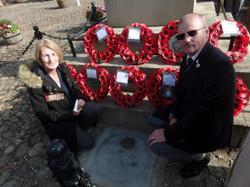 Commemoration To Honour Captain Archie White VC.Boroughbridge 114