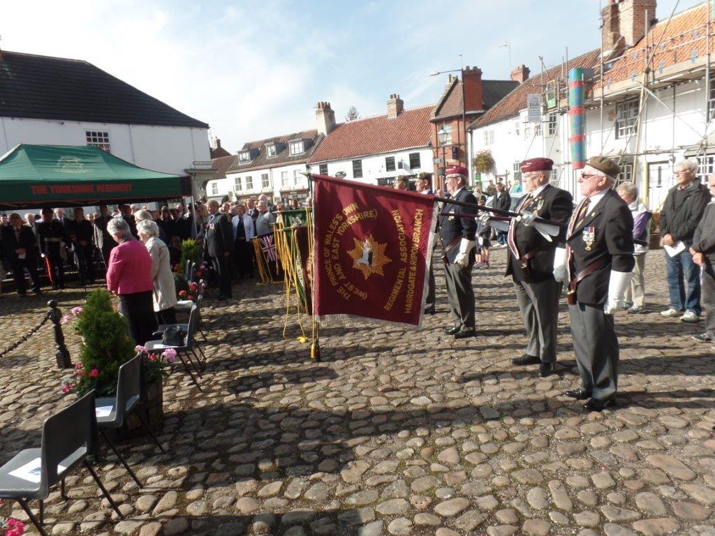 Commemoration To Honour Captain Archie White VC.Boroughbridge 091