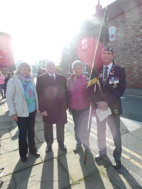 Commemoration To Honour Captain Archie White VC.Boroughbridge 005