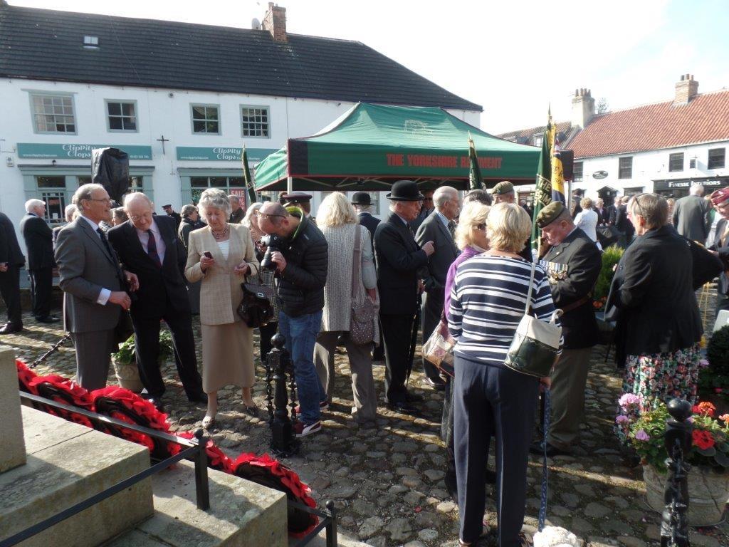 Commemoration To Honour Captain Archie White VC.Boroughbridge 113