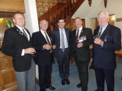 Commemoration To Honour Captain Archie White VC.Boroughbridge 153