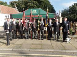 Commemoration To Honour Captain Archie White VC.Boroughbridge 019