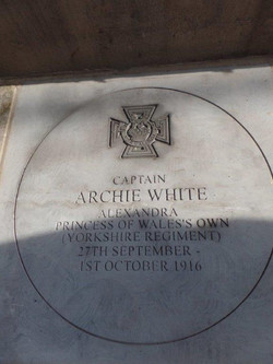 Commemoration To Honour Captain Archie White VC.Boroughbridge 116