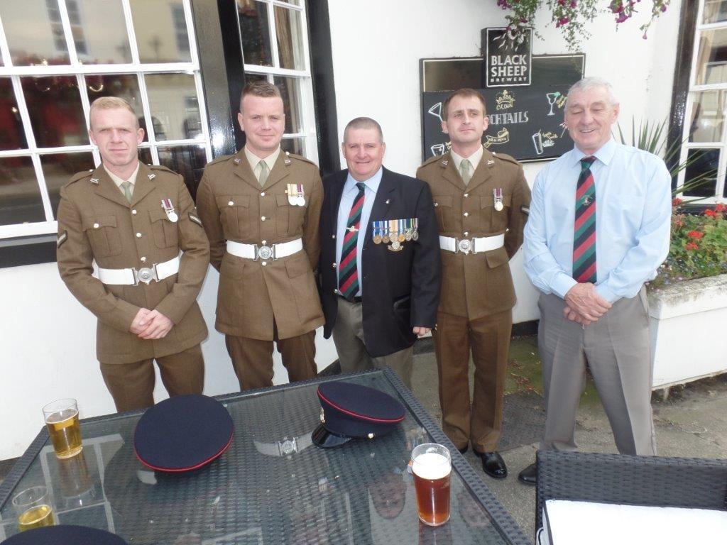 Commemoration To Honour Captain Archie White VC.Boroughbridge 155