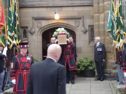 Kenny McGraths Funeral.Guisbrough Priory Wed 1st Nov 2017 101