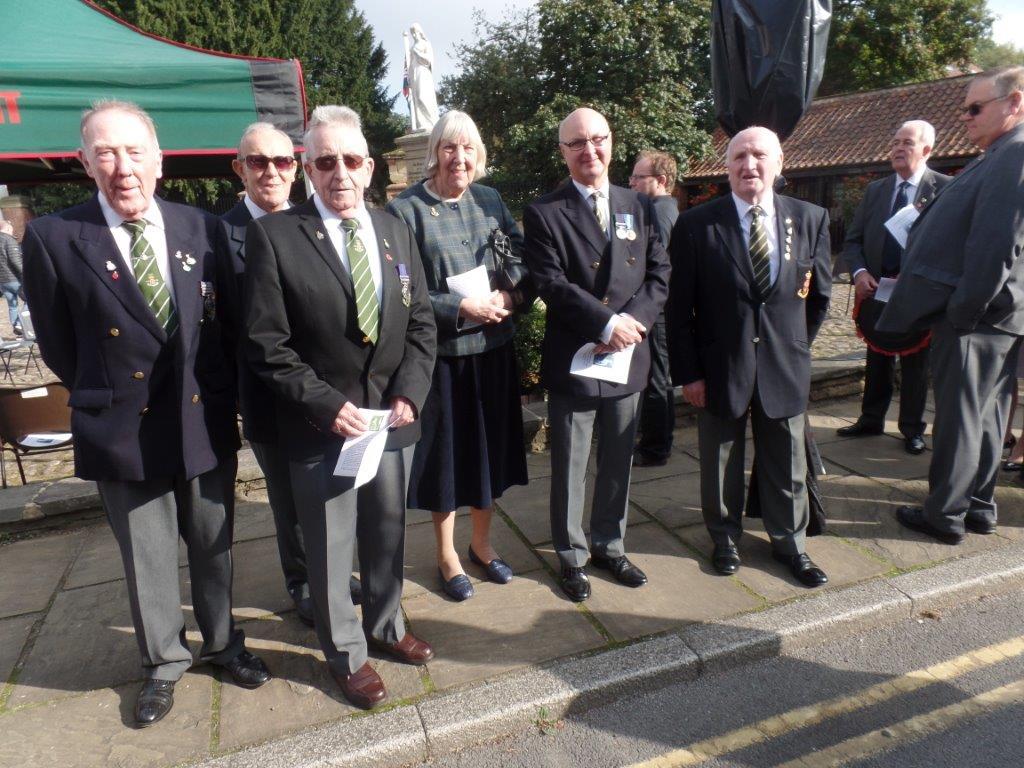 Commemoration To Honour Captain Archie White VC.Boroughbridge 066
