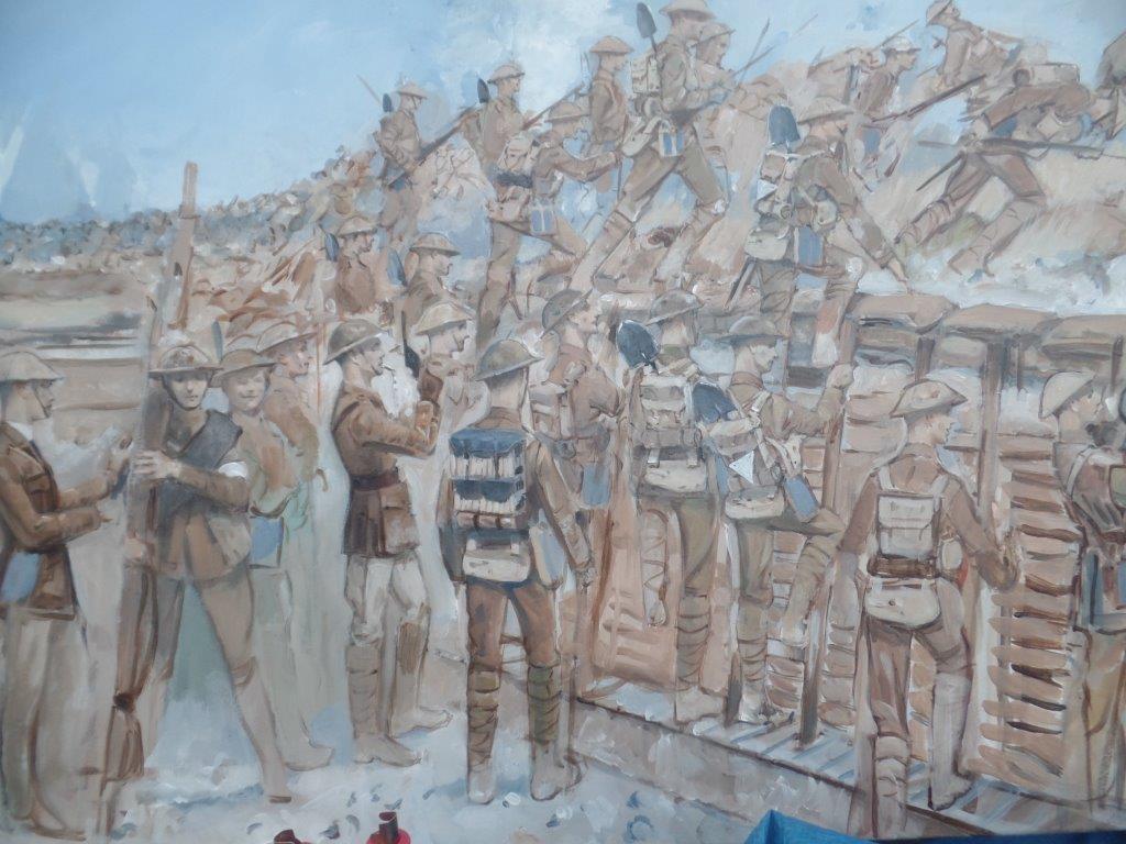 Ypres,Tynecot,Passchendale,Belgium 28th June 3rd July 2016 254