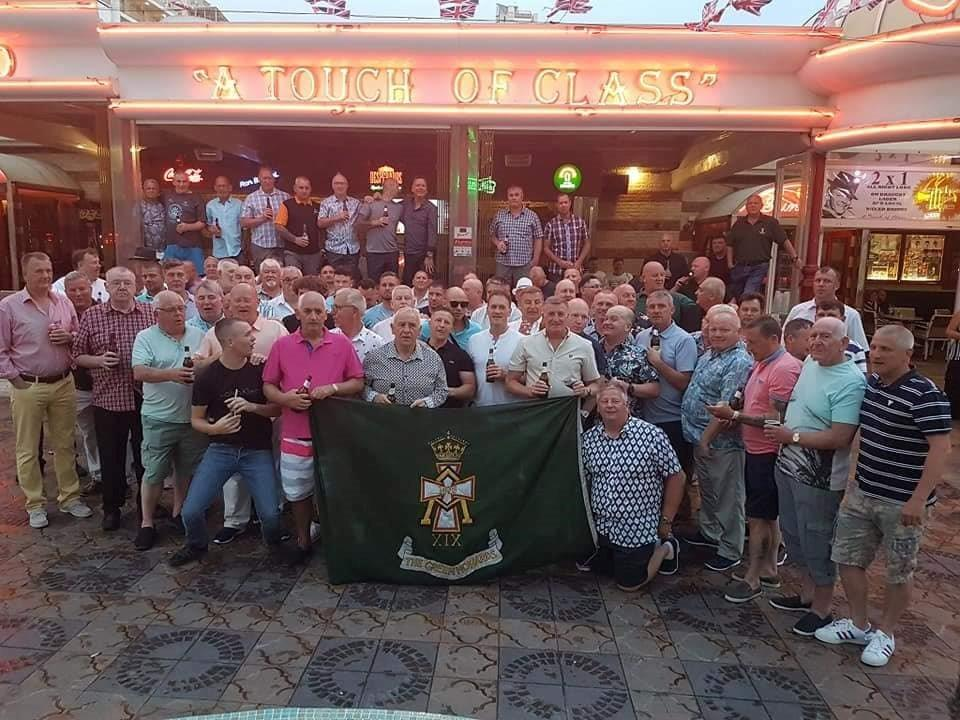 Green Howards Benidorm. Fun In The Sun.Sat 2nd June 2018