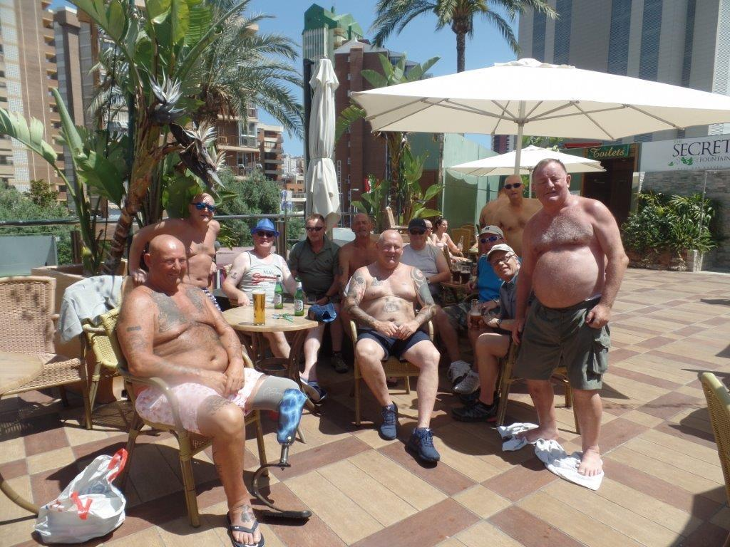 Green Howards.Benidorm Fun In The Sun.Mon 28th,Mon 4th June 2018 089