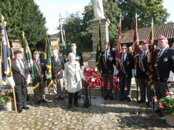 Commemoration To Honour Captain Archie White VC.Boroughbridge 110