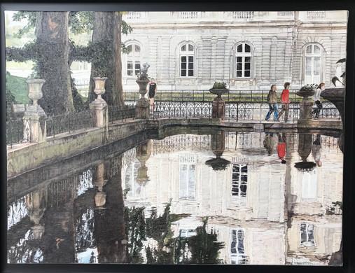 """Fontaine Medicis"" B. Ivanoff"