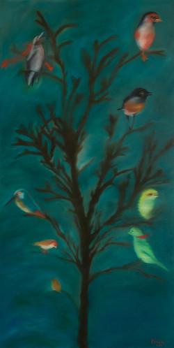 Tableau_Olga KARADIMOS_Petit-arbre-japon