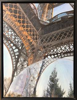 """""""Bulle sous les jupes d'Eiffel"""""""