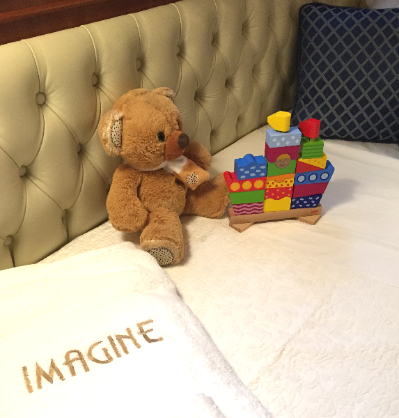 The Port Stateroom ...ideal for kids