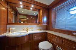 The Port Stateroom Bathroom