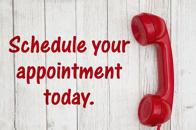 Schedule%20your%20appointment%20today%20text%20with%20retro%20red%20phone%20handset%20on%20weathered