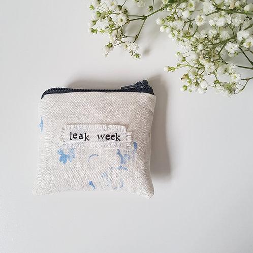 Leak Week- Handbag Size Feminine Product Storage
