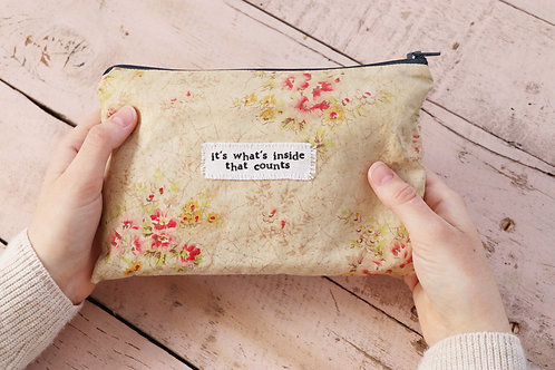It's What's Inside That Counts - Large Pouch
