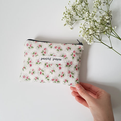 Period Purse - Ditsy Floral