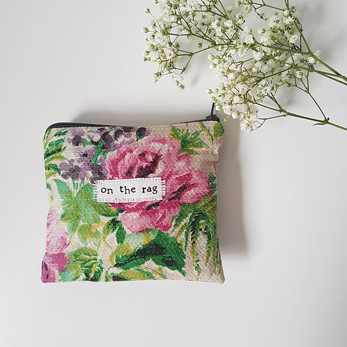 On The Rag - Floral Feminine Product Storage
