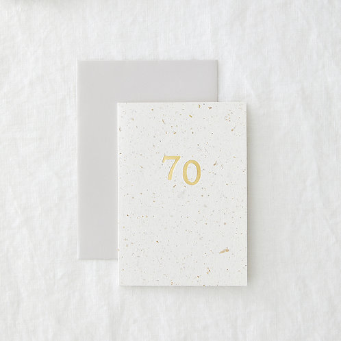 Hop 70 Greeting Card