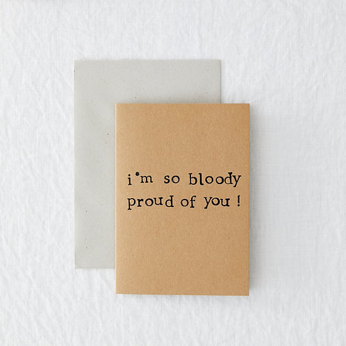 Bloody Proud