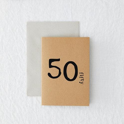 Age - 50